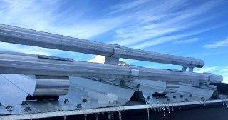 Монтаж снегозадержателей Новосибирск цена от 835 руб.